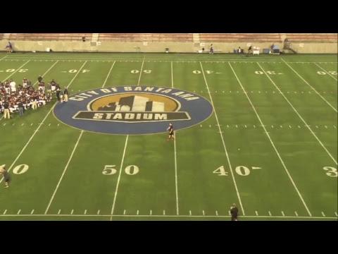 2017 Hancock Football -  Allan Hancock College @ Santa Ana College