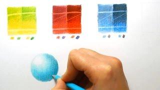 Review | Faber-Castell Polychromos VS Caran d'ache Luminance colored pencils | Emmy Kalia