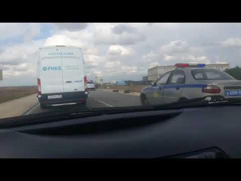 ДТП на трассе Джанкой-Феодосия-Керчь ДТП 30.08.2017