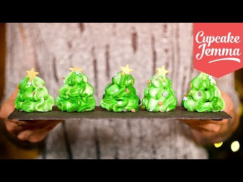 Kathryn Harris - Christmas Tree Meringues. Must.Have.These.