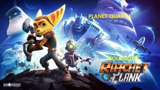 Ratchet and Clank Gold Bolts Planet Quartu