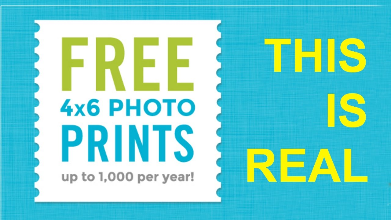 Get Free Prints With This App Youtube