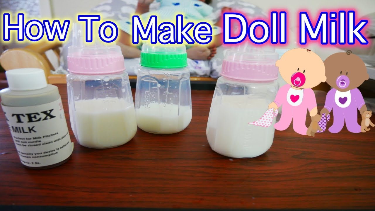 How To Make Magic Milk For Silicone Baby Dolls Reborn