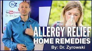 Allergy Relief Home Remedies | Stop Allergies!