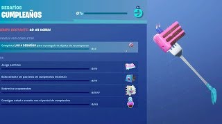 NEW EVENT *CUMPLEEs CUMPLES* in FORTNITE! (FREE GIFTS, PICO AND MORE) -RoEssYT