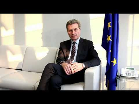 Günther Oettinger - Positive Energy in Europe - Powershoots TV
