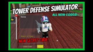 *NEW* TOWER DEFENSE CODES! *ALL WORKING* [Roblox]