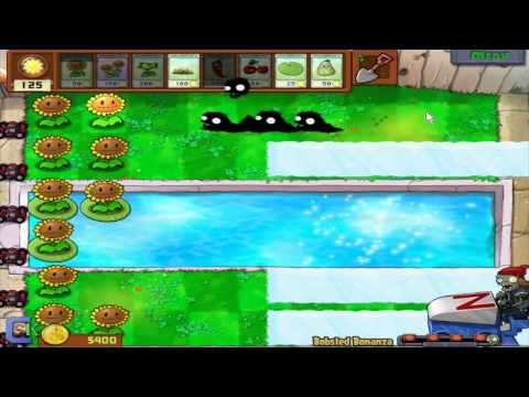 Plants vs Zombies - Mini Games - Column Like You See `Em and