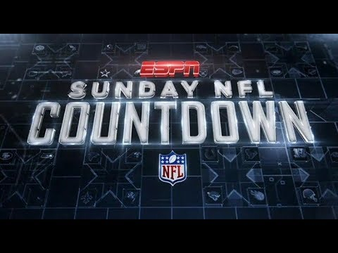 Sunday NFL Countdown |LIVE|