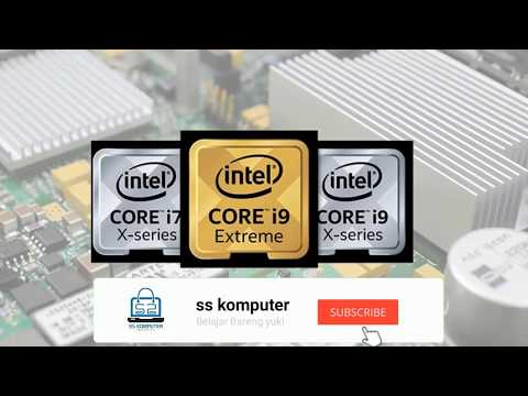 Bagaimana Mengenal Pasti Generasi Processer Intel.