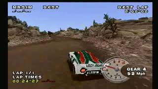 Need For Speed V Rally 2 PS1: Argentina Stage 4