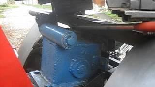 Отключаемый вал отбора мощности на минитрактор из мотоблока
