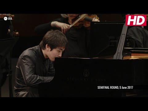 #Cliburn2017 Semifinal Concerto - Tony Yike Yang -  Mozart: Piano Concerto No. 20 in D Minor