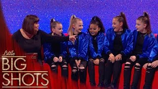 Teen Street Dance crew have a surprise for Dawn | Little Big Shots