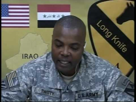 OASD: DOD NEWS BRIEFING WITH COL. TWITTY FROM IRAQ, MARCH 23