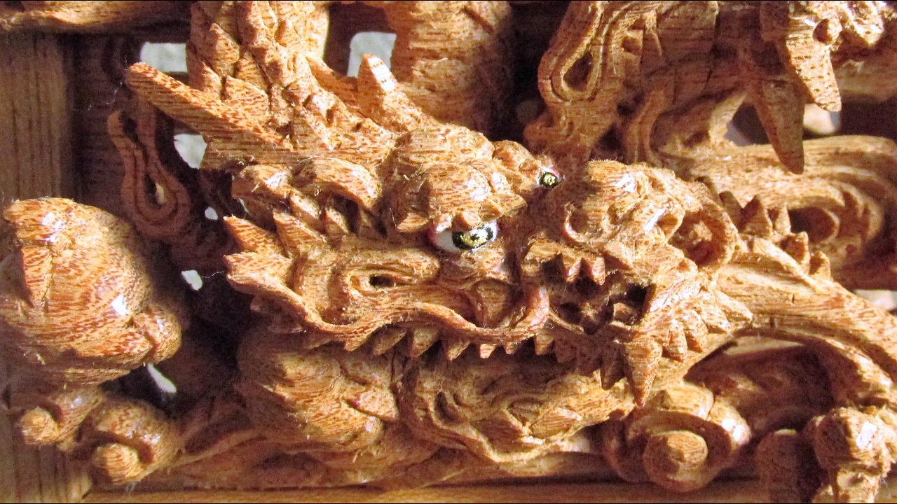 How to make the dragon carved wooden panel youtube