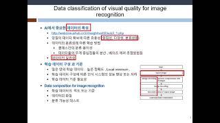 IP-P-2 / 영상인식을 위한 화질의 데이터 분류성