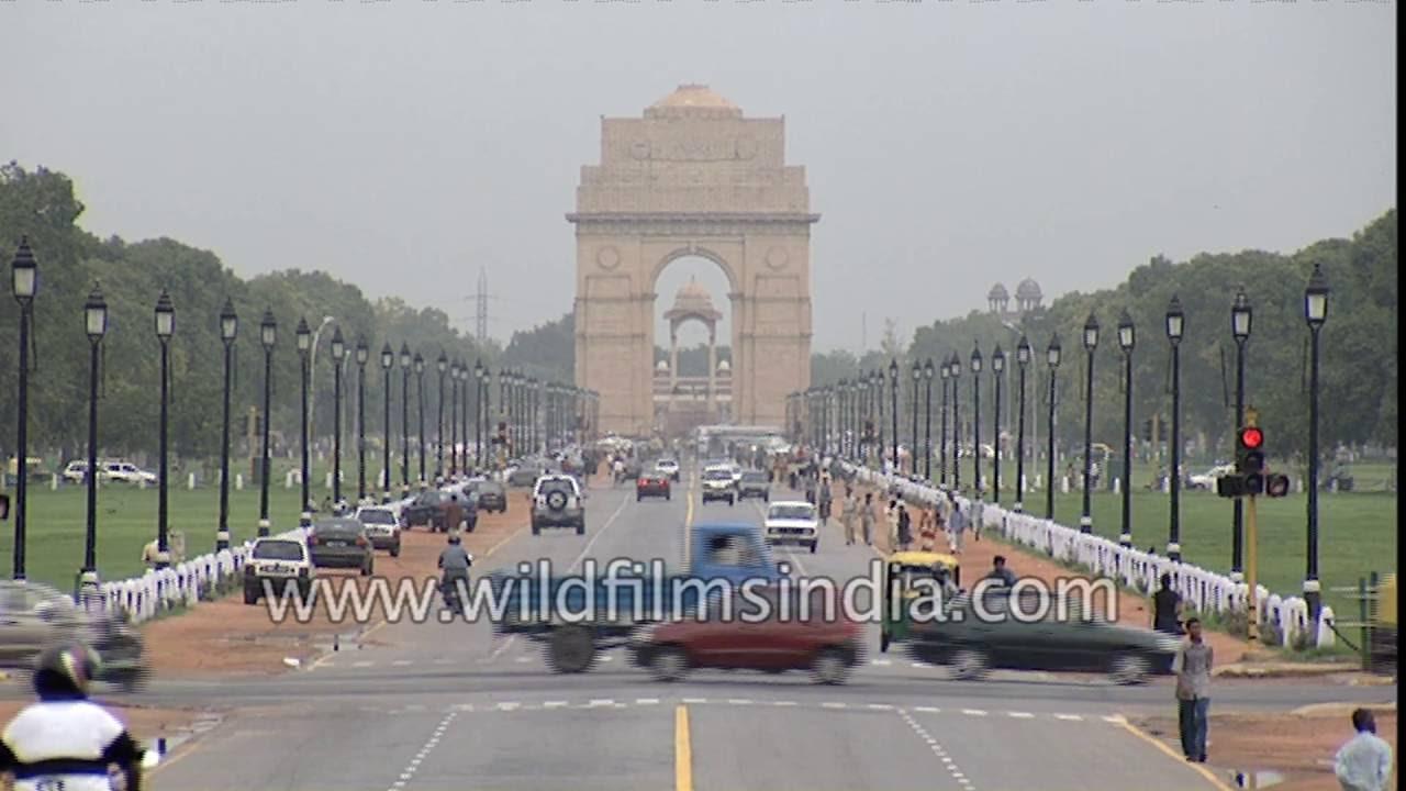 new delhi british architecture icons india gate south and north