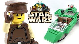 LEGO Star Wars Flash Speeder review! 2000 set 7124!