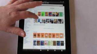 iPad Book Reading Apps Demo Part II: GoodReader Tablet Edition