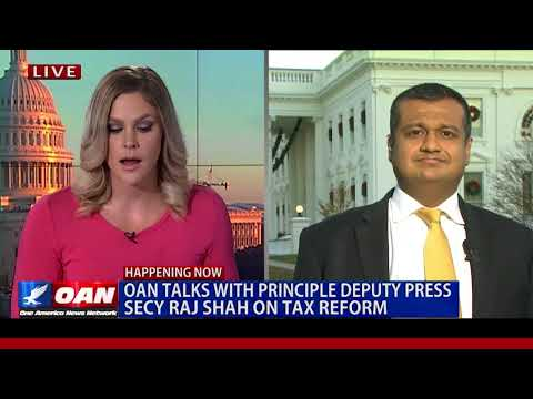OAN Talks with White House Principal Deputy Press Secretary