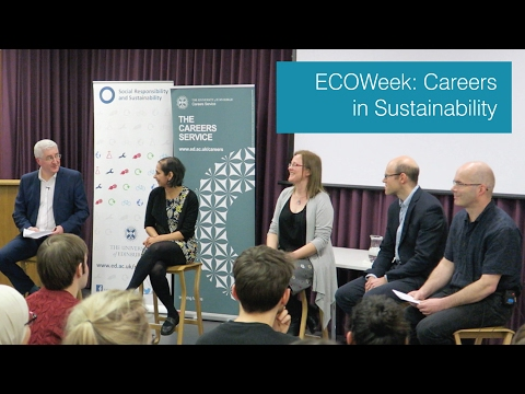 ECOWeek 2017: Careers in Sustainability