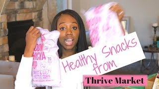 Must Try Healthy Snacks?! | Thrive Market Organic Food Haul | Is it Good?