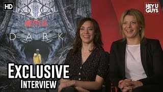 Jordis Triebel & Maja Schone | Netflix Dark Season 1 Exclusive Interview