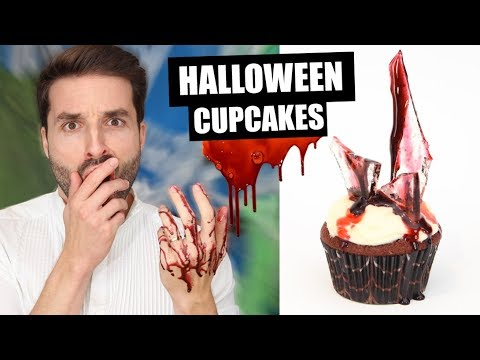 RECETTE RAPIDE CUPCAKES HALLOWEEN 2018 - CARL IS COOKING