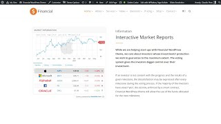 How To Display Stock Market Data In WordPress Website For Free?