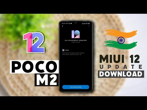 POCO M2 OFFICIAL MIUI 12 UPDATE AVAILABLE IN INDIA 🇮🇳 | OTA FILE DOWNLOAD