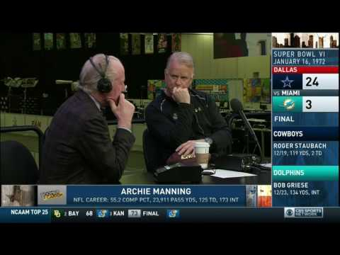 Boomer and Carton - Interview with Archie Manning