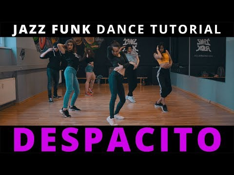 DESPACITO Dance TUTORIAL mit Musik (Chorus) ♫ Jazz Funk Choreography | TanzAlex (deutsch)