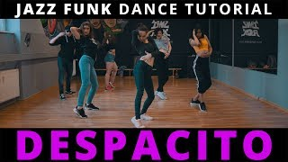 DESPACITO Dance TUTORIAL mit Musik (Chorus) ♫ Jazz Funk Choreography | TanzAlex (deutsch)