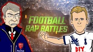 harry kane vs arsene wenger football rap battle tottenham vs arsenal 2016 cartoon song