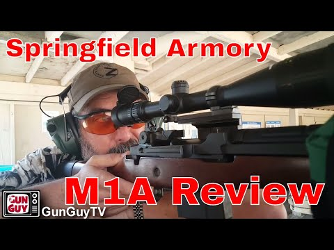 The Springfield Armory M1A - A California Legal Defensive Rifle