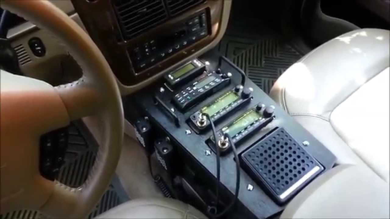 Ford Explorer Ham Radio Scanner Installation Youtube