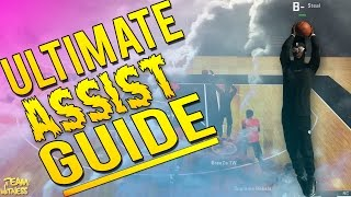 NBA 2K15 MyPark Tips: Ultimate Passing Guide! How To Get 20+ Assists In The Rec!