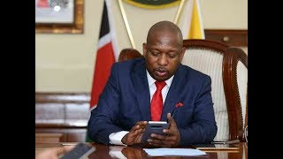 RECLAIMING NAIROBI: Governor Mike Sonko ready to lose seat