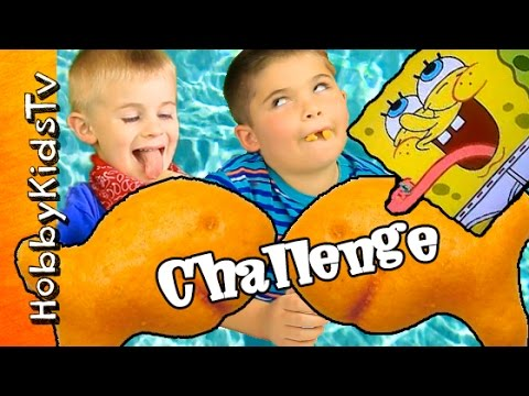 Goldfish FLAVOR Challenge! Guess 17 Different Goldfish Flavors by HobbyKidsTV