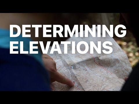 Determining And Estimating Elevations On A Topographic Map