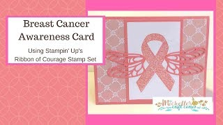Breast Cancer Ribbon Card Mp3