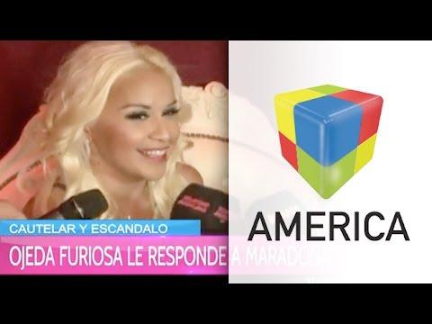 ¿Qué dijo Verónica Ojeda sobre la nueva cautelar que le envió Maradona?