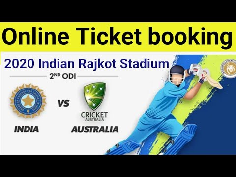 India Vs Australia Ticket Booking Kaise Kare 2020 / How To Book Online Cricket Ticket 2020