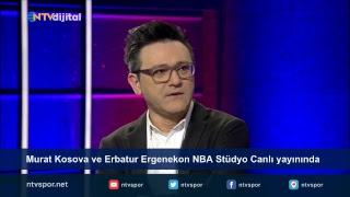 Murat Kosova ve Erbatur Ergenekon NBA Stüdyo canlı yayınında sorularınızı bekliyor