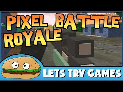 PIXEL BATTLE ROYALE 🍔 Lets Try Games 🍔