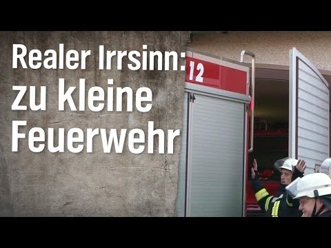 Realer Irrsinn: Feuerwehrauto passt nicht in Feuerhaus | extra 3 | NDR