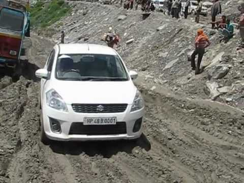 Maruti Ertiga at Rohtang Pass