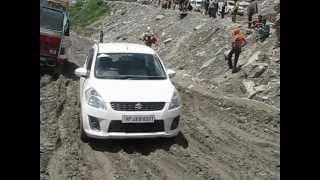 Maruti Ertiga at Rohtang Pass