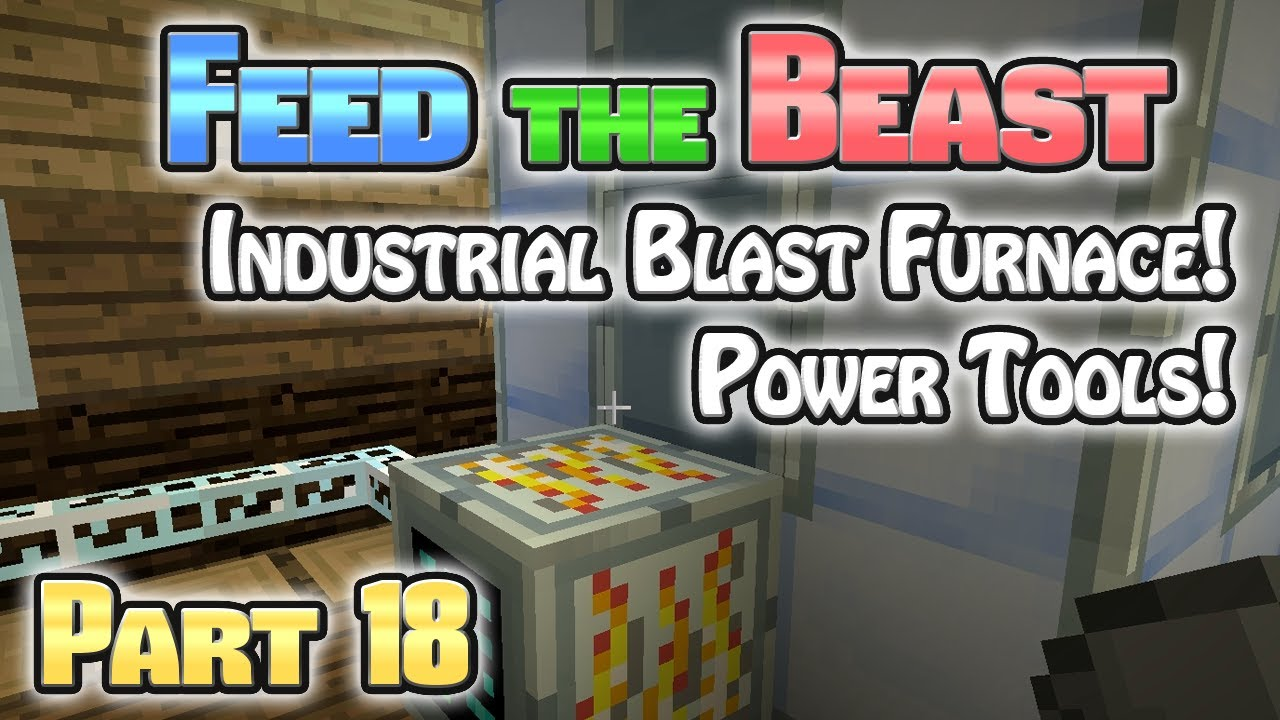 Minecraft FTB Hermitcraft Part 18: Industrial Blast ...